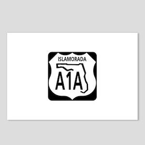 A1A Islamorada Postcards (Package of 8)