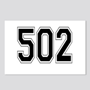 502 Postcards (Package of 8)