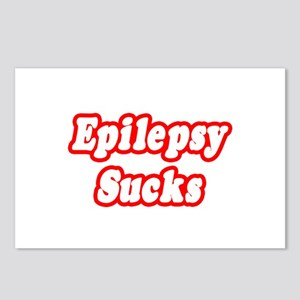 """Epilepsy Sucks"" Postcards (Package of 8)"