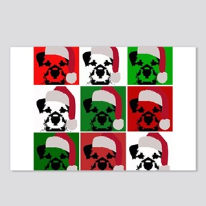 New Warhol Santa hat Postcards (Package of 8)