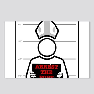 Arrest The Pope Postcards (Package of 8)