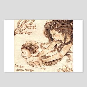 Mer-baby Postcards (Package of 8)