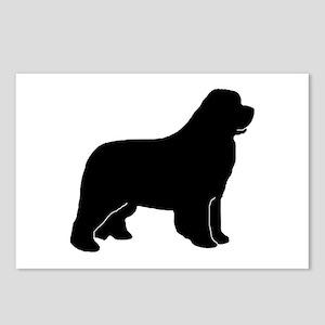 Black Newfoundland Dog Postcards (Package of 8)