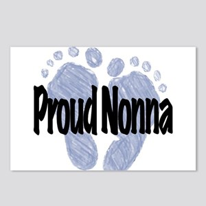 Proud Nonna (Boy) Postcards (Package of 8)