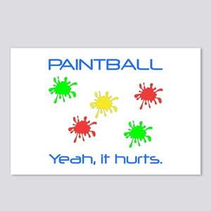 Paintball Hurts Postcards (Package of 8)