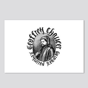 Geoffrey Chaucer Postcards (Package of 8)