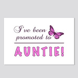 Promoted To Auntie Postcards (Package of 8)