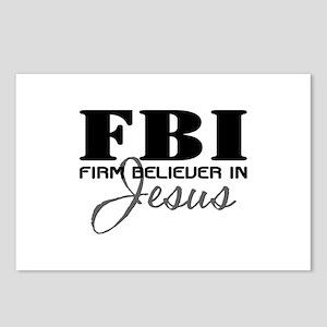 Firm Believer in Jesus Postcards (Package of 8)