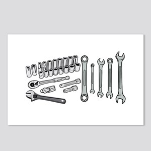 Wrenches Postcards (Package of 8)