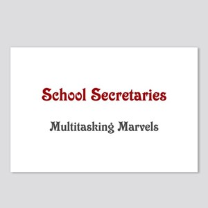 School Sec. Multitasking Marvels Postcards (Packag