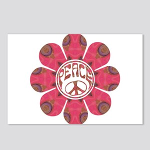 Peace Flower - Affection Postcards (Package of 8)