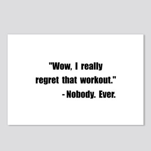 Workout Quote Postcards (Package of 8)