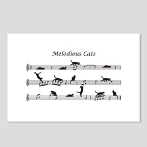 Melodious Cats Postcards (Package of 8)