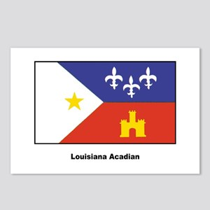 Louisiana Acadian Flag Postcards (Package of 8)