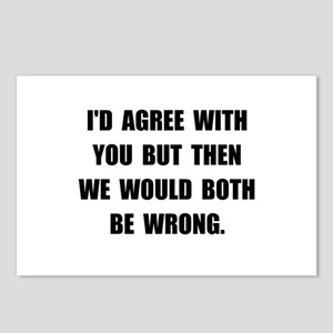 Both Be Wrong Postcards (Package of 8)