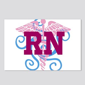 RN swirl Postcards (Package of 8)