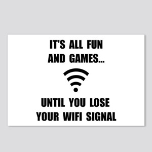 Lose Your WiFi Postcards (Package of 8)