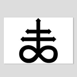 Hermetic Alchemical Cross Postcards (Package of 8)