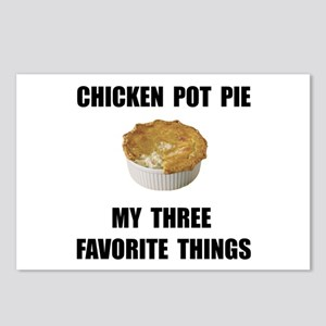 Chicken Pot Pie Postcards (Package of 8)