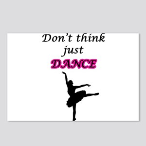 Just Dance Postcards (Package of 8)