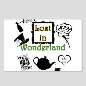 Lost in Wonderland Postcards (Package of 8)
