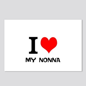 I Love My Nonna Postcards (Package of 8)