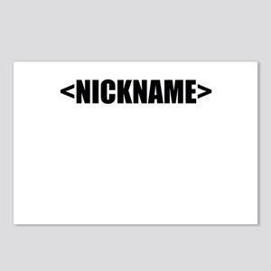 Nickname Personalize It! Postcards (Package of 8)