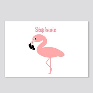 Personalized Flamingo Postcards (Package of 8)