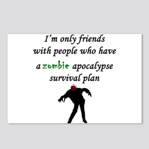 Zombie Plan Postcards (Package of 8)