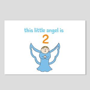little angel custom age Postcards (Package of 8)