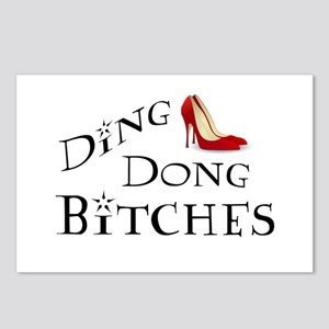 Ding Dong Bitches Postcards (Package of 8)