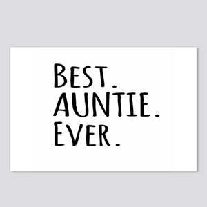 Best Auntie Ever Postcards (Package of 8)