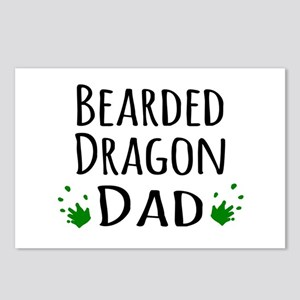 Bearded Dragon Dad Postcards (Package of 8)
