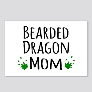 Bearded Dragon Mom Postcards (Package of 8)