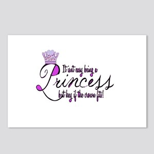 Princess, It isn't easy Postcards (Package of 8)