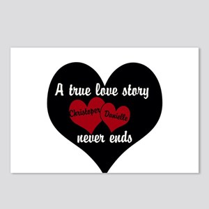 Personalize True Love Story Postcards (Package of