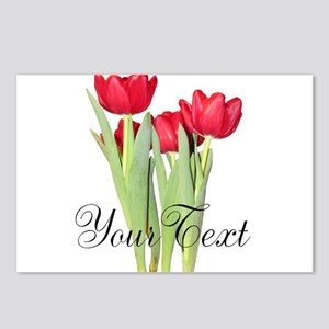 Personalizable Tulips Postcards (Package of 8)