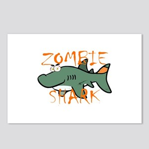 Zombie Shark Postcards (Package of 8)