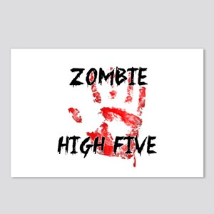 Zombie High Five Postcards (Package of 8)