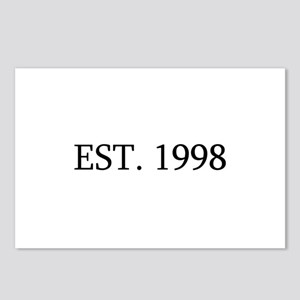 Est 1998 Postcards (Package of 8)