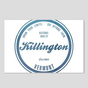 Killington Ski Resort Vermont Postcards (Package o
