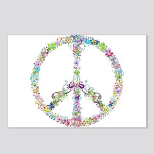 Peace of Flowers Postcards (Package of 8)