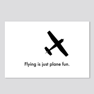 Plane Fun 1407044 Postcards (Package of 8)