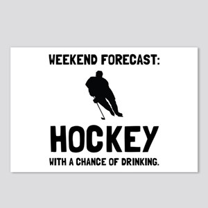 Weekend Forecast Hockey Postcards (Package of 8)