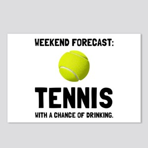 Weekend Forecast Tennis Postcards (Package of 8)