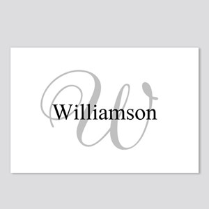 CUSTOM Initial and Name G Postcards (Package of 8)