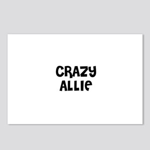 CRAZY ALLIE Postcards (Package of 8)