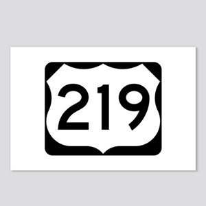 US Route 219 Postcards (Package of 8)