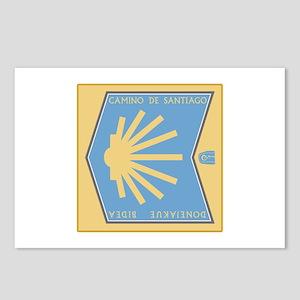 Camino de Santiago Spanis Postcards (Package of 8)
