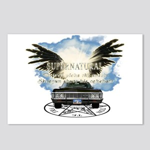 Supernatural driver picks the music Angel Wings Po